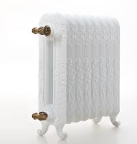 Чугунные радиаторы Guratec Diana 590, цвет WeissGlanz RAL 9016 (белый)