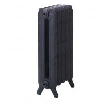 Чугунные радиаторы Merkur 760, цвет Perlschwarz (перламутровый черный)