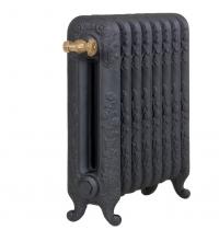 Чугунные радиаторы Guratec Diana 590, цвет Mattschwarz (матовый черный)
