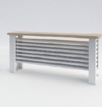 Радиаторы скамейки Purmo с горизонтально расположенными секциями Column Bench G