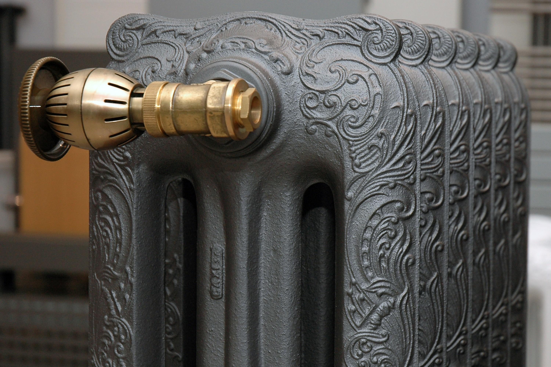 чугунные радиаторы в стиле ретро