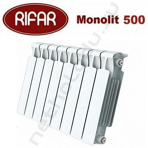 Rifar Monolit 500 1 секция биметаллический радиатор Рифар Монолит