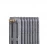 Чугунный радиатор Guratec Apollo 765/09 Gussgrau Серый