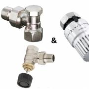 Комплект вентилей для подключения отопительных приборов