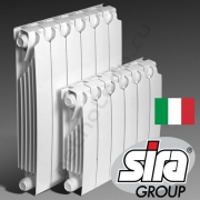 Sira RS 500 6 секций биметаллический радиатор Сира